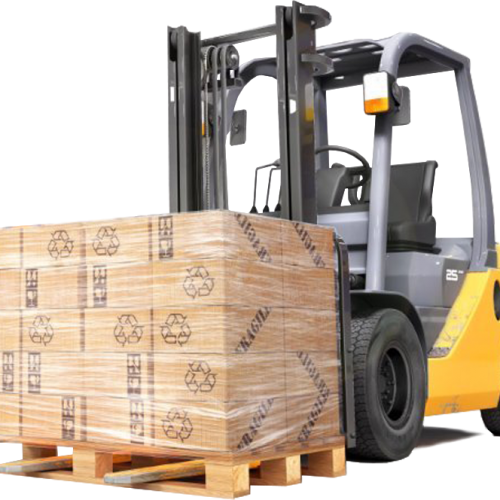 Transport matériel entrepôt