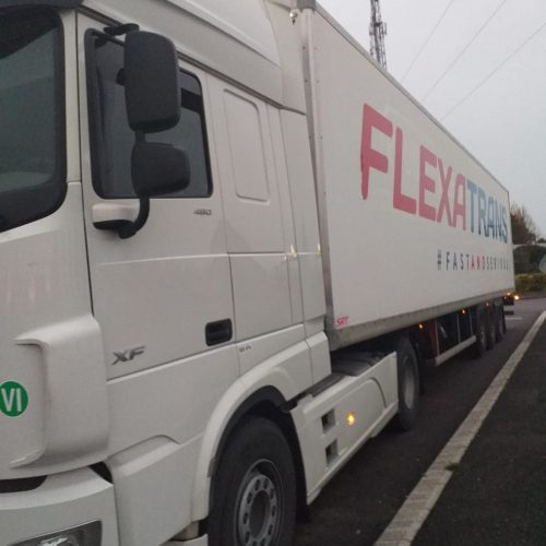 Transport routier fourgon