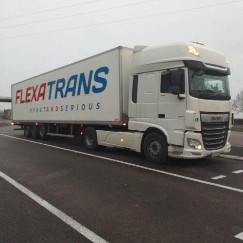 Transport routier en frigo