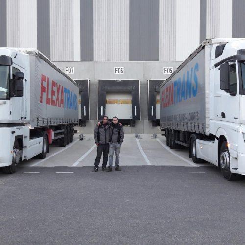 Flexatrans transporteur routier