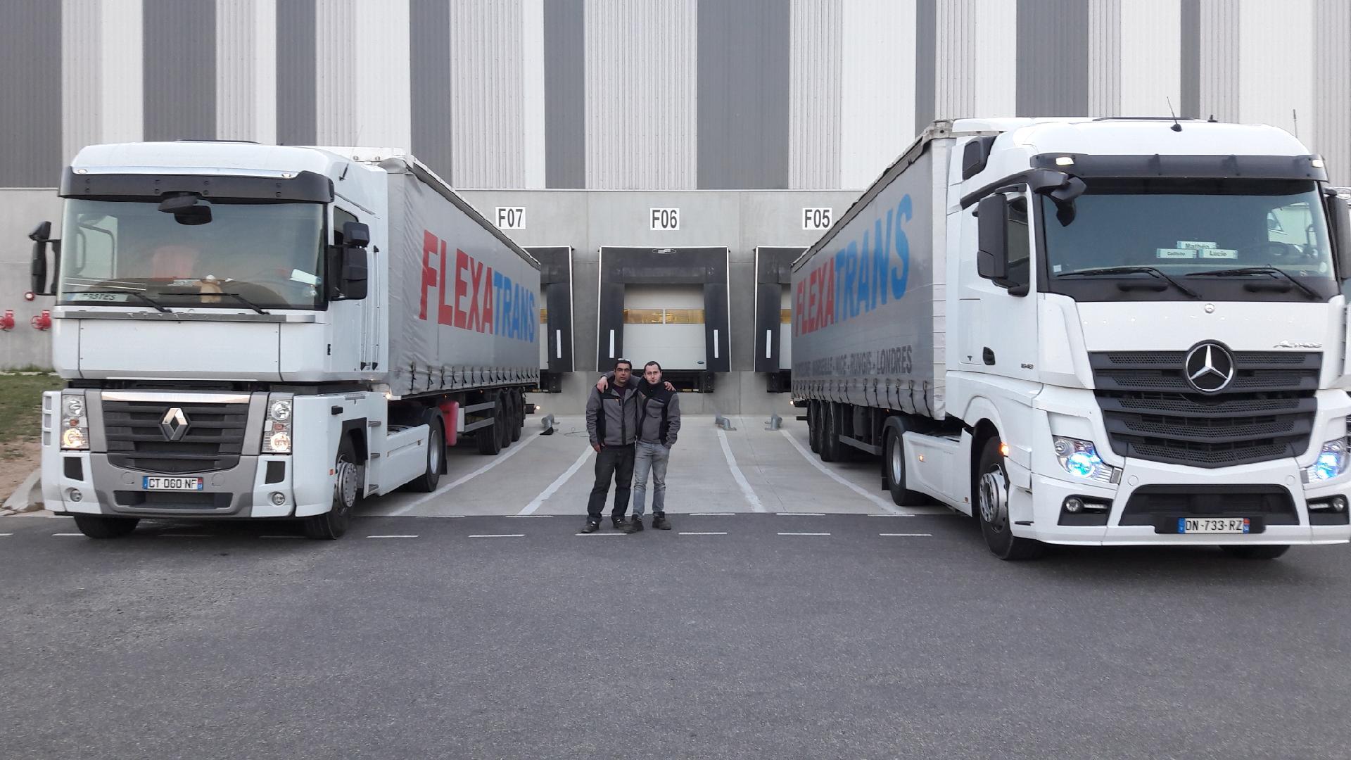 Transporteur routier de marchandises