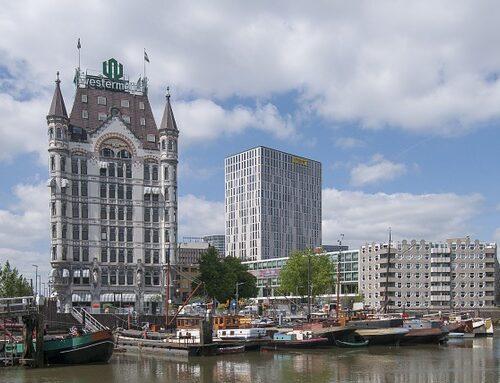 Transporteur de fret aux Pays-Bas