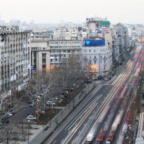Chargement de marchandises en Roumanie
