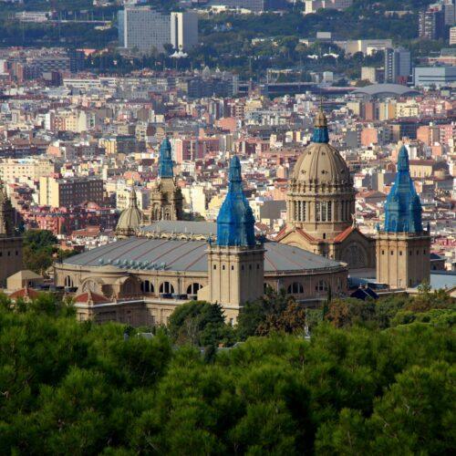 Transporteur express sur Barcelone